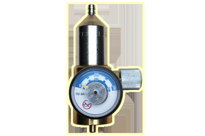 Gas regulator up to 500 psi