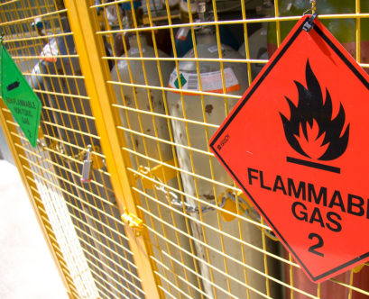 Definition of Flammable Gas