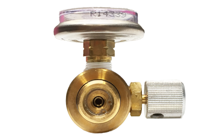 Connection 1000 psi gas regulator