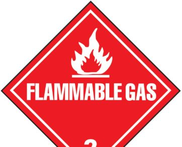 What is flammable gas